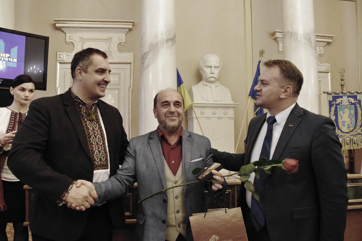 Нагородили Генерального директора Львівської національної філармонії Володимира Степановича Сивохіпа